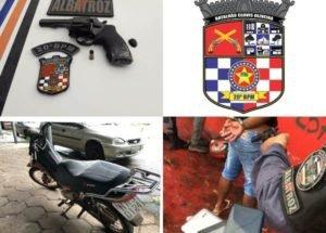Dupla suspeita de praticar assaltos na Cohab