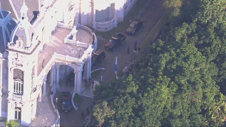 PF faz buscas na sede do governo do Rio e na residência de Wilson Witzel