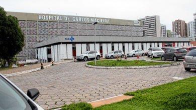 Paciente estava internado no Hospital Carlos Macieira