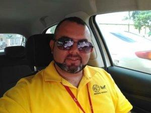Joedson Oliveira, de 37 anos desapareceu no Rio Gurupi após a canoa naufragar