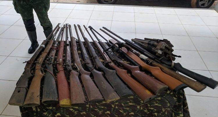 Armas próprias para atividade de caça