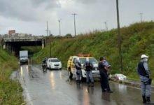 Motociclista identificado como Denilson morreu no local do acidente