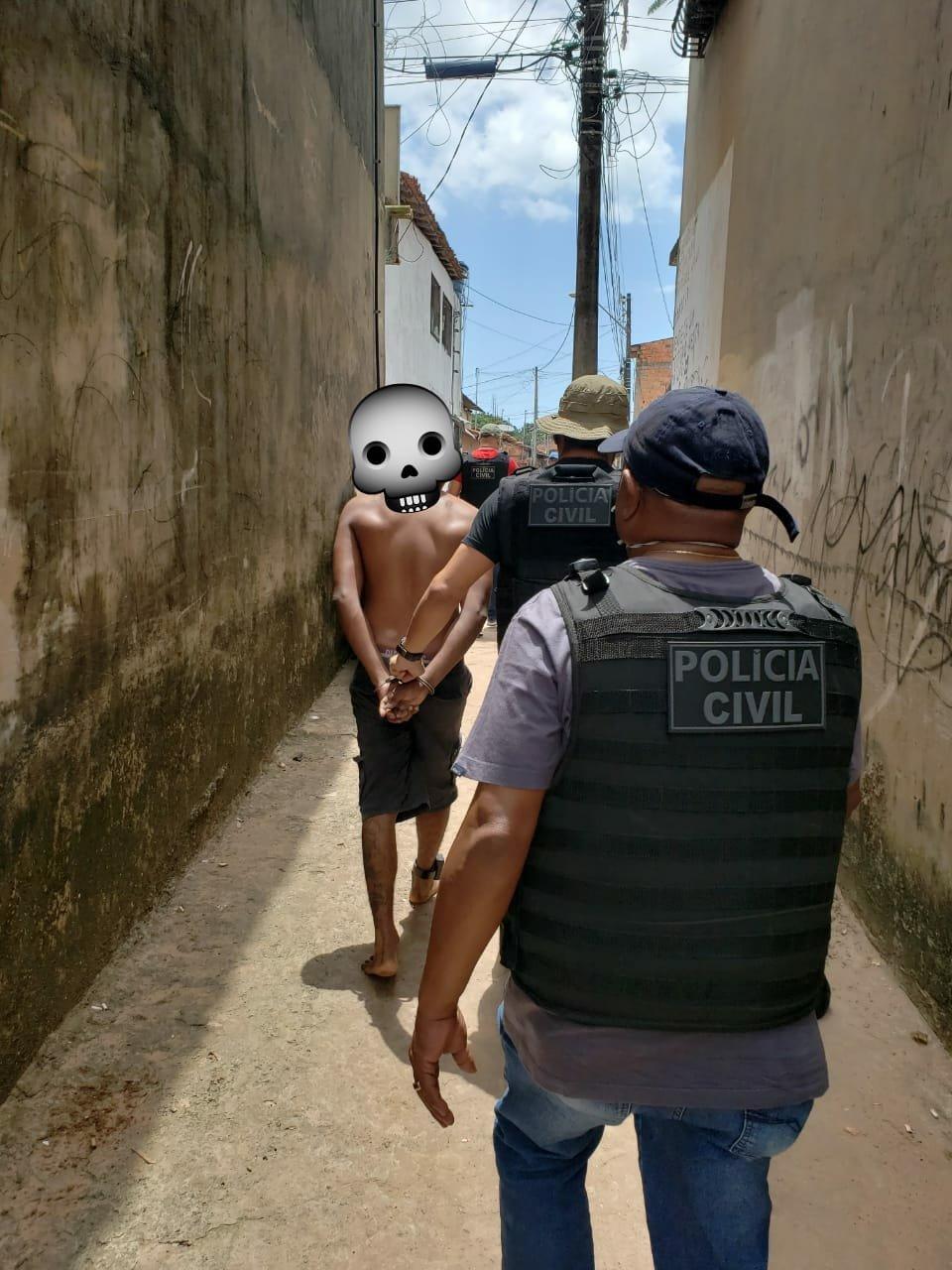 Assaltante preso pela Polícia Civil