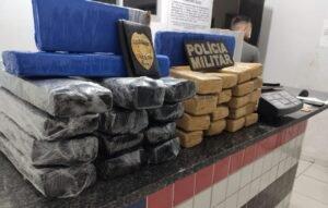 Mais de 15 kg de droga apreendia em Açailândia