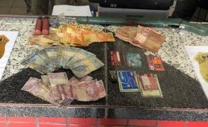Operação Pecus - apreensão de dinheiro e documentos