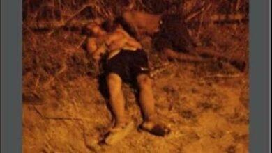 Os adolescentes foram encontrados baleados próximo a escola Caíque
