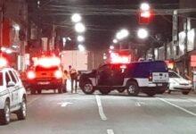 Policiais isolaram a área, mas os assaltantes haviam fugido