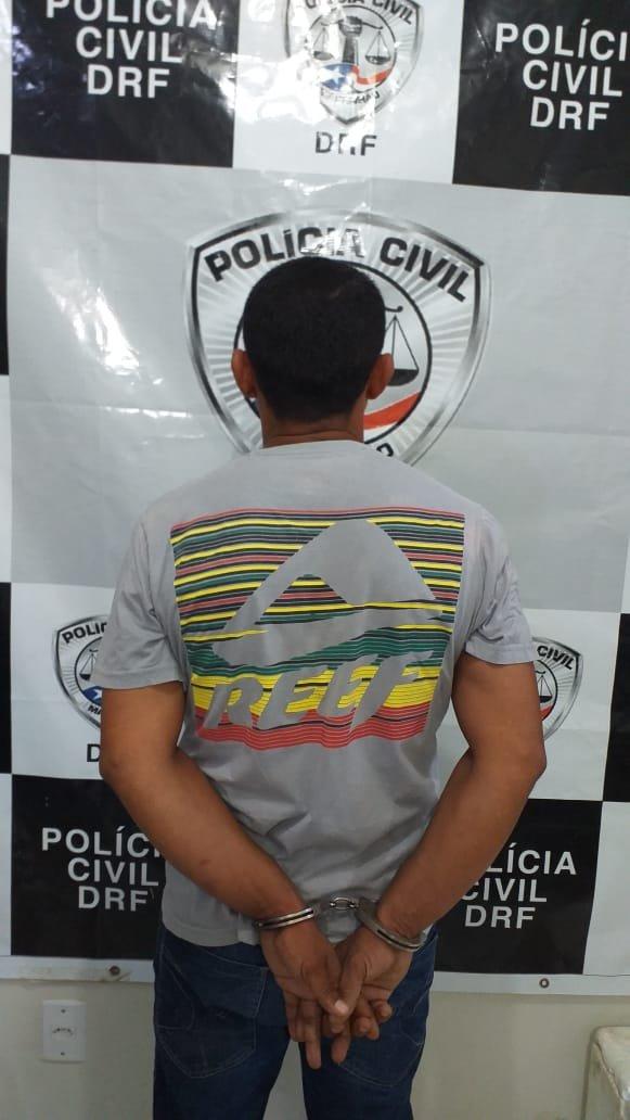 Suspeito de estuprar criança de 11 anos no Rio de Janeiro (PCMA divulgação)