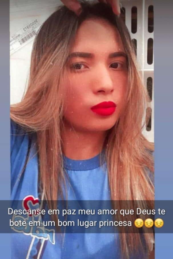 Funcionária, Elane de Oliveira, de 19 anos
