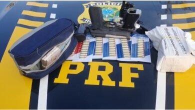Os dois suspeitos estavam em posse de R$ 100 MIL em espécie e armas municiadas