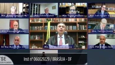 Sessão virtual do TSE em Brasília