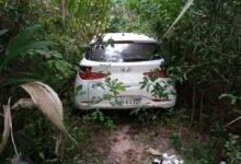 Polícia Rodoviária recupera em mata fechada veículo roubado na BR-135 no MA