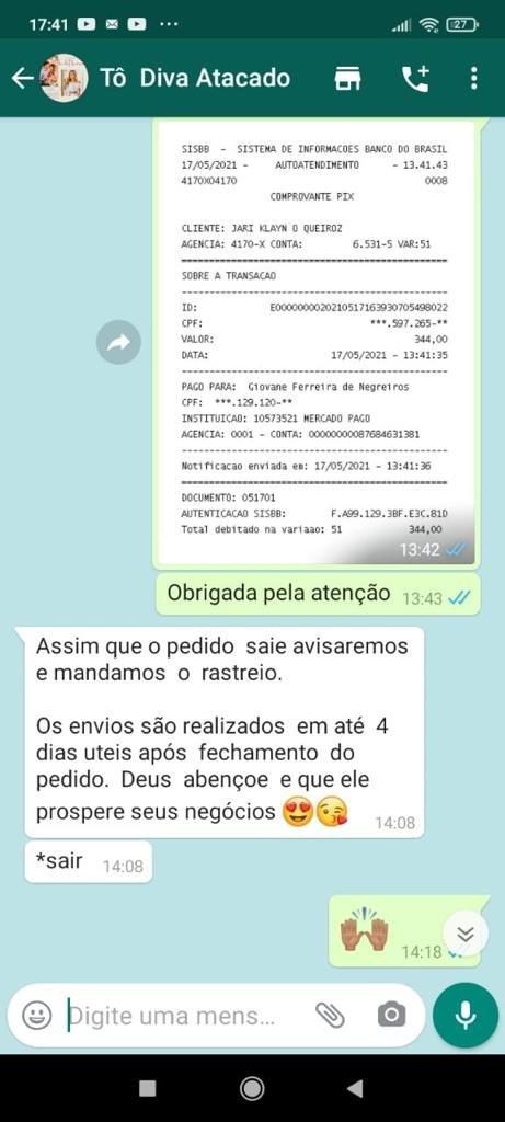 Tô Diva Bolsas e Confecções é FALSA e dá GOLPE
