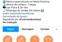 """Golpistas voltam a atacar na """"internet"""" com nome de Anselmo Confecções"""